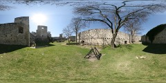 Hrad Rab� - severn� opevn�n� - Virtual Tour/Panorama