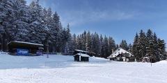 Churáňov - lyžařský stadion - Virtual Tour/Panorama