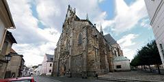 Před Bílou věží a Arciděkanským kostelem Panny Marie - Virtual Tour/Panorama